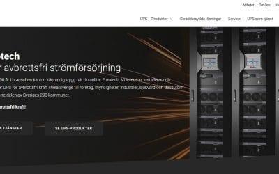 Välkomna till Eurotechs nya hemsida!